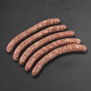 METZGerli 80 g, 5 Stk., Schweinsbratwurst, roh