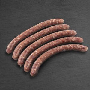 METZGerli 80 g, 5 Stk., Schweinsbratwurst, roh, pikant